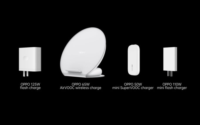 OPPO launches 125W flash charge, 65W AirVOOC wireless flash charge and 50W mini SuperVOOC charger