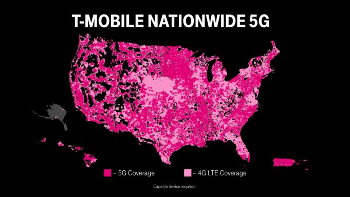 T-Mobile Launches World's First Nationwide Standalone 5G Network