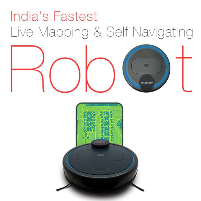 Milagrow Launches World's First Robotic Vacuum Cleaner, 3 New Floor Robots with Independent Navigation Features on Amazon Prime Days (6th and 7th Aug)